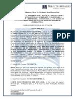RO# 764 - S - Acuerdo Entre Ecuador y Belarús Para Evitar Doble Imposición y Evasión Fiscal Sobre Renta y Propiedad (30 Mayo 2016)