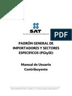 Manual Del Contribuyente Para Importadores