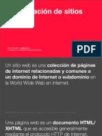 Clasificacion de Sitios Web