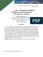Métodos de evaluación familiar