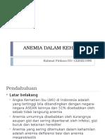 Anemia Dalam Kehamilan (Rahmat Firdaus d u - 122.022.1096)
