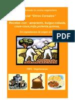 Otros Cereales (Recetas Veganas)