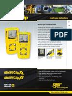 BW GasAlertMicroClip XT XL Datasheet