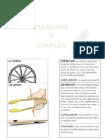 Trabajo Sobre Las Maquinas Simples y Complejas