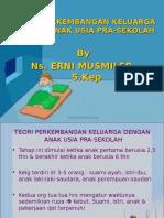 Perkembangan Usia Pra-sekolah