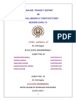 civil project report
