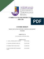 full course design