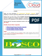 AC Insurance Booster Capsule 2015 by AffairsCloud