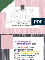 Stages of Teacher's Development