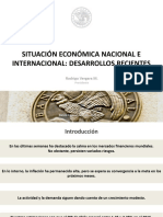 Presentación Rodrigo Vergara - Situación Economía Nacional e Internacional