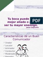 Características de Un Buen Comunicador
