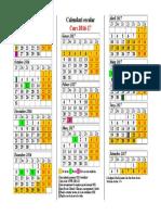 Calendari Escolar 2016-17