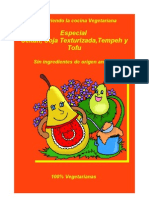 Seitán, soja texturizada, tempeh (Recetas veganas)
