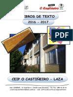 Libros de Texto 2016-17 Ceip O Castiñeiro - Laza (1)