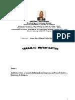 Trabalho Investigativo Auditoria