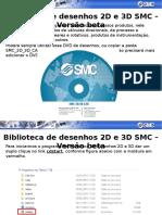 Biblioteca de Desenhos 2D e 3D Da SMC