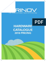Hardware Catalogue