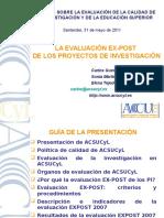 ACSUCYL Presentacion EXPOST Santander 2011