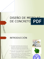Diseño de Mezclas de Concreto