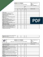 Checklist Electrico