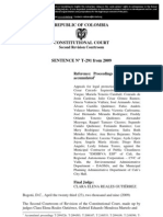 04.4 (English) Judgement T-291-09 of the Constitutional Court of Colombia