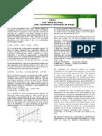 Calorimetria e conservação de energia