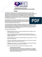 Budget.dhcs FACT SHEET for Stakeholders -- AB 1629 Re Authorization