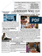 Historic Old Northeast Neighborhood Newsletter - June 2010
