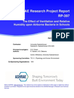 ASHRAE D RP397 198507 Airbone Bacteria in Schools