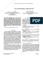 A Software for S-box Performance Analysis and Test