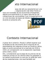 Contexto Internacional Latinoamerica