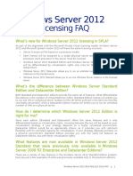 Windows Server 2012 Spla Faq