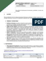 PC-Pr01 Procedimiento Declaracion de Conflicto de Intereses Final