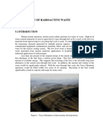 Management of Radiooactive Waste