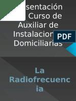 Presentación Del Curso de Auxiliar de Instalaciones Domiciliarias