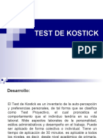 Test de Kostick