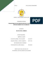 DTI Tranformación de Energía Mecánica a Eléctrica y Su Aprovechamiento en Un Gimnasio