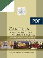 Cartilla Congresistas 2016 2021