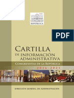 Cartilla Congresistas 2016 2021