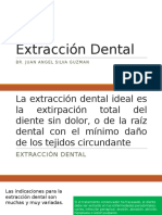 Extracción Dental