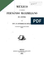 México y El Archiduque Maximiliano de Austria