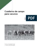 Cuaderno Vacunos Campo