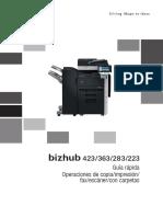 Bizhub 423 363 283 223 Qg Copy Print Fax Scan Box Operations Es 1 2 1