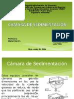 Camara Sedimentacion