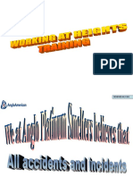 Working at Heights - Training Powerpoint