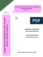 Antología - Planeación Curricular i