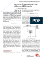 Design of Shunt Active Filters Based on Phase Locked Loop and PI Controller-2014