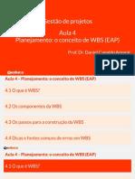 AULA 05  5   Planejamento O Conceito de WBS EAP [Completa].pdf