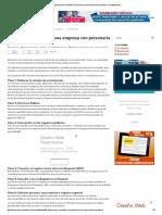 9 Pasos Para Constituir Una Empresa Con Personería Jurídica _ Contabilidad