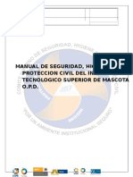Manual de Seguridad, Higiene y Proteccion Civil ITSMASCOTA.docx